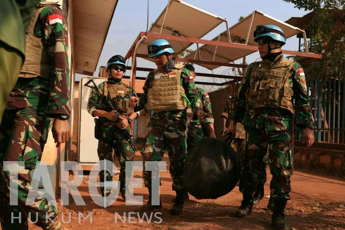 Sisa Konflik Afrika, Tiga Fuse Mortir 81 Diamankan Satgas Kizi TNI Konga Minusca