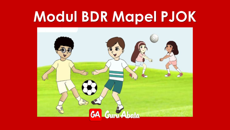Download Buku Modul BDR Mapel PJOK SD/MI Kelas 1 2 3 4 5 6