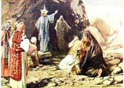 The Raising of Lazarus - clipart.christiansunite.com