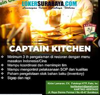 Loker Surabaya di Kartiko Heritage Oktober 2020
