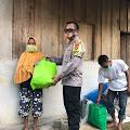 Lagi, Kapolres Gowa Berikan Bantuan Sembako ke Warga Prasejahtera