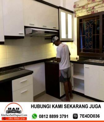 Jasa pembuatan kitchen set pondok labu kitchen set murah for Tukang kitchen set