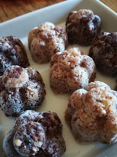 tartufi vegani con scarto latte soia