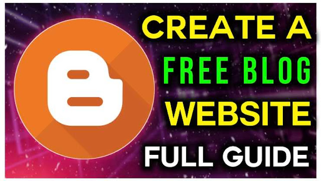 How To Create A Blog Website Free - Online Marketing
