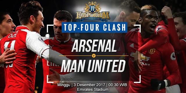 Jelang Pertandingan Arsenal Melawan Manchester United, Panas.