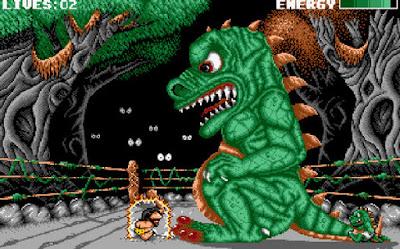 Pantallazo videojuego Prehistorik