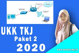 Soal UKK Teknik Komputer dan Jaringan Paket 2 K13 Terbaru 2020