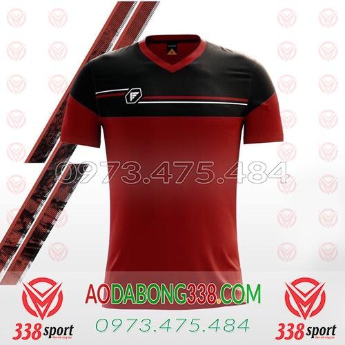 Áo Đá Bóng Không Logo Fegan Maron SDD01 Đỏ