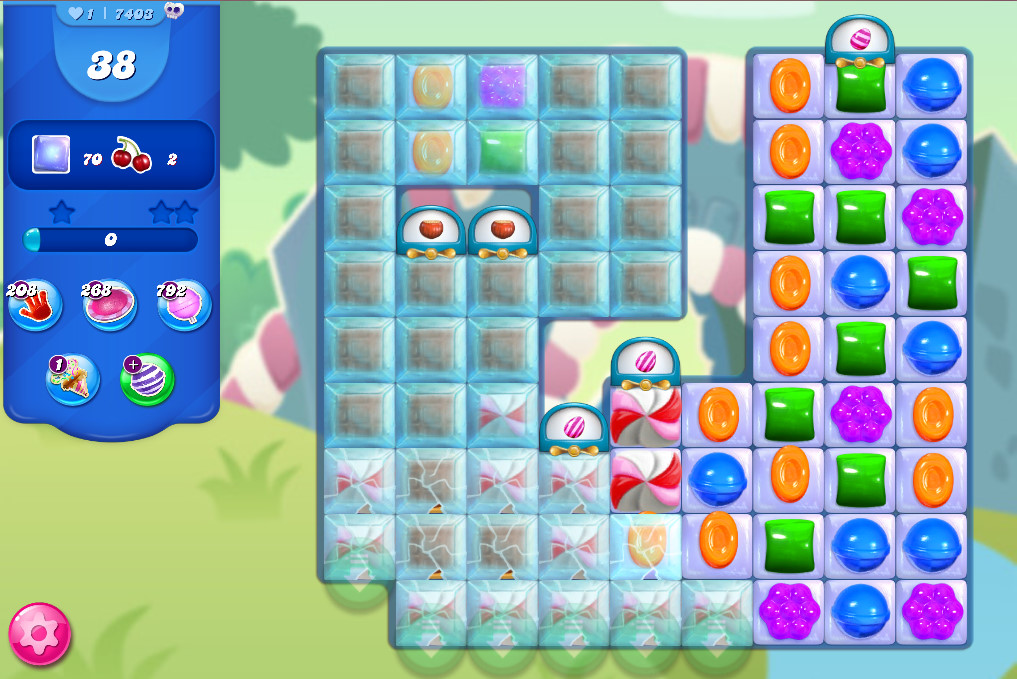 Candy Crush Saga level 7403