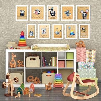 Decorative sets for children