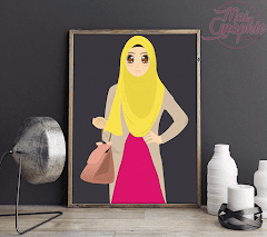Design Doodle Fesyen Muslimah