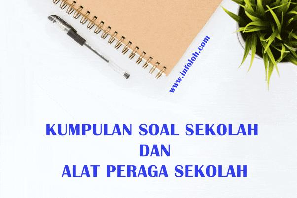 Kumpulan Soal Tematik Kelas 4 SD Tema 9 Kekayaan Sumber Energi Di Indonesia Subtema 1, 2, dan 3 Dan Kunci Jawaban