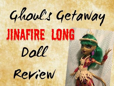 Ghouls Getaway Jinafire Long DOLL REVIEW