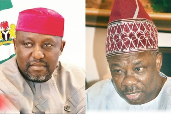 Ogun State Governor Amosun Get Suspended with Okorocha