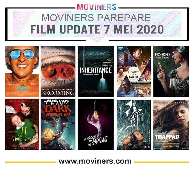 FILM UPDATE 7 MEI 2020