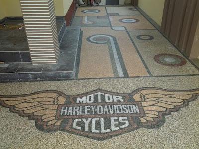 Batu Sikat Motif Harley Davidson
