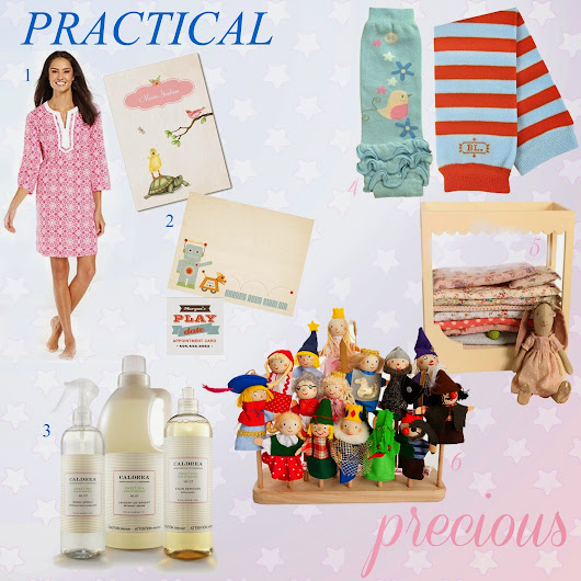 Practical & Precious : Gifts for New Mom & Baby