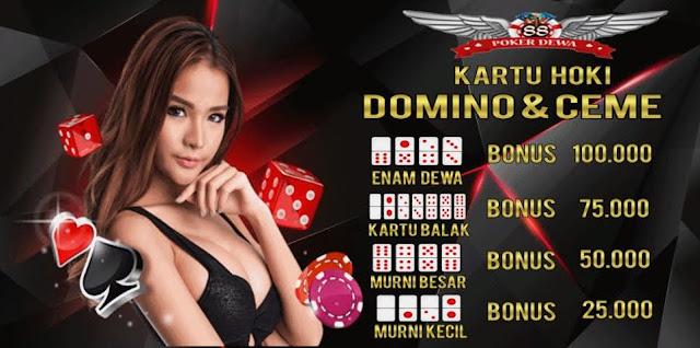 Promo kartu hoki ceme dan domino