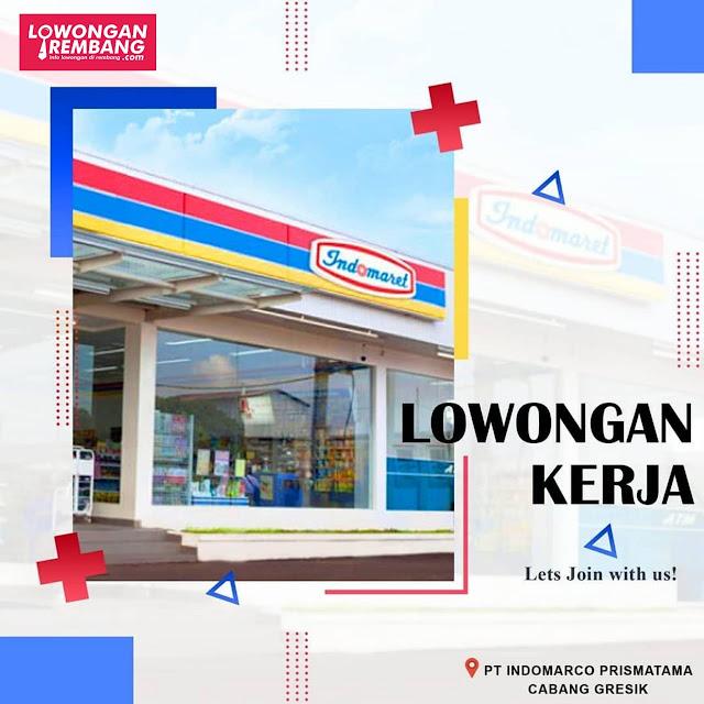 Lowongan Kerja Store Crew Minimarket Indomaret Penempatan Rembang Lamongan Madura
