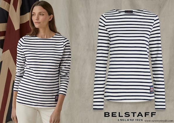 Kate Middleton wore Belstaff Britannia Drey Long Sleeved T-Shirt