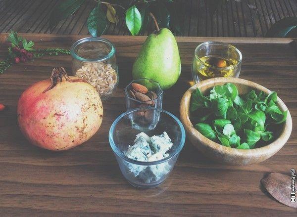 Ingrédients recette Markal Buddha Bowl d'automne blé dur ancien