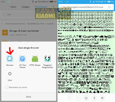 Tutorial Cara Support Simbol Logo Unicode TXT di Android