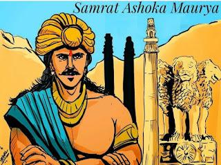 Samrat Ashok Biography in Marathi