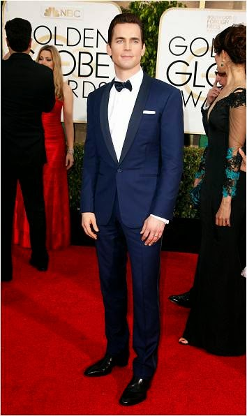 Matt Bomer wore TACORI cufflinks Golden Globe Awards Red Carpet