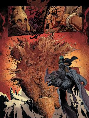 Sheïd tome 1 - Un dessin détaillé et des créatures volantes fantastiques