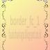 Border untuk desain buku pernikahan