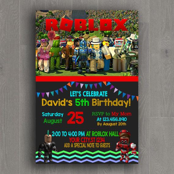 roblox party supplies roblox birthday