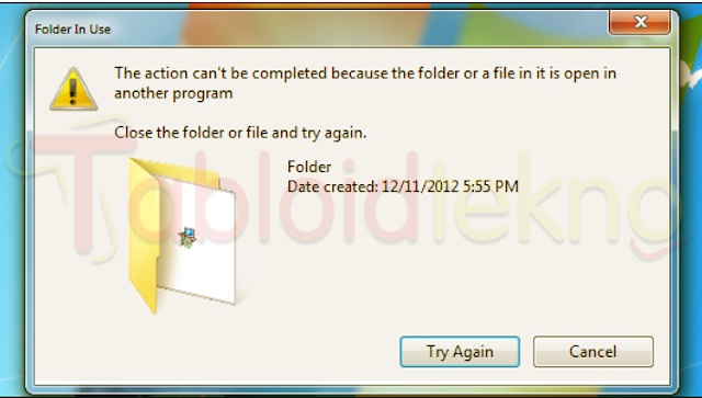 How To Delete Files That Can Not Be Deleted on The PC 2