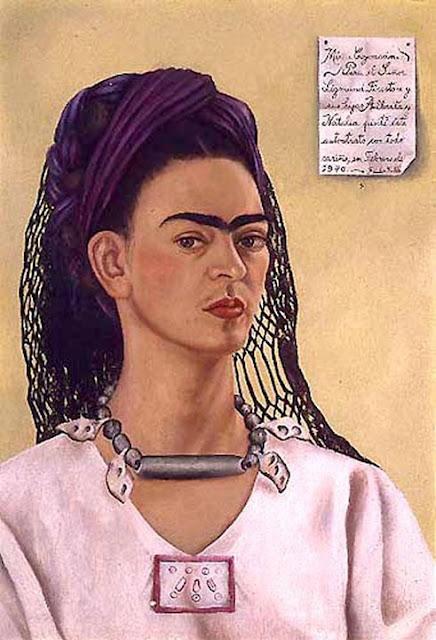 Фрида Кало - Автопортрет посвященный Сигизмунду Файрстоуну. 1940