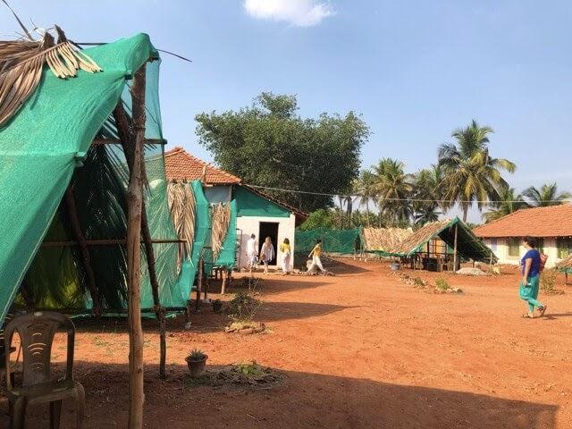 ashram facilities
