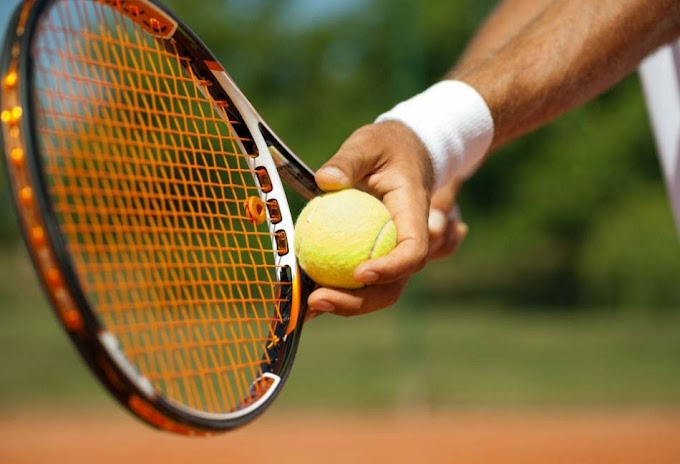 India, Pakistan Davis Cup team tennis stand for galstukom