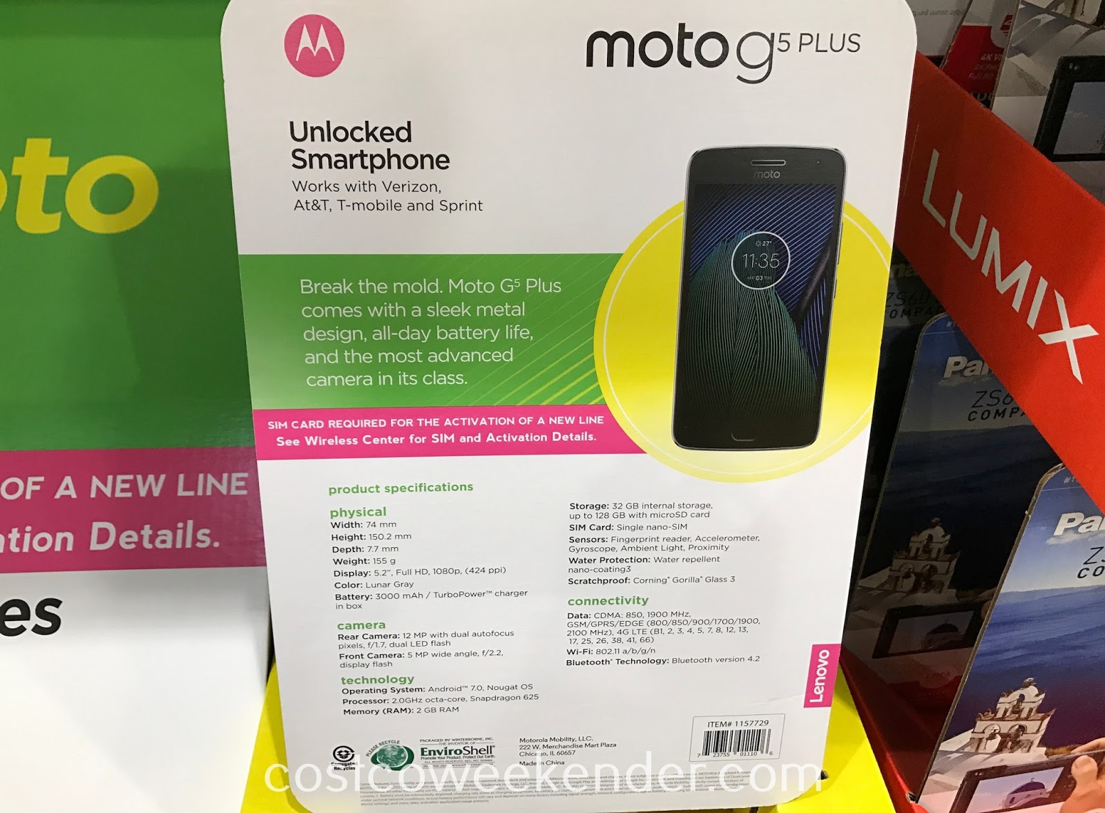 Costco 1157729 - Moto G5 Plus: practical and not as costly as the iPhone