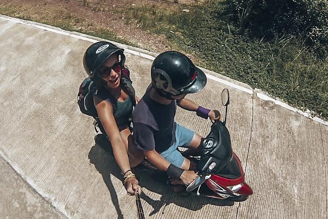 kask | skuter | Karabon voyage