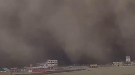 341 αγνοούμενοι από την αμμοθύελλα στην Μογγολία