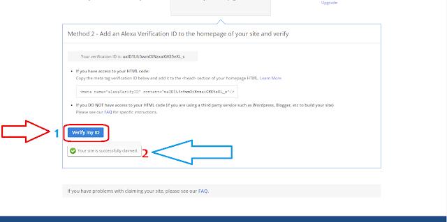 Alexa'ya Nasıl Kayıt Olunur - Meta Etiketini Onaylama İşlemi