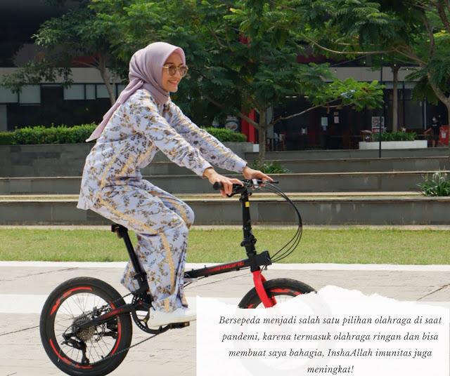 bersepeda untuk imunitas