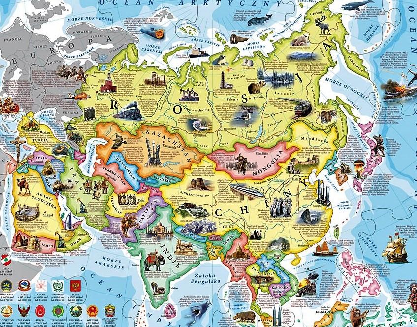 Azji szkoda Duży czarny kogut