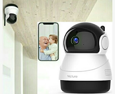 Victure Baby Camera - Wireless 2Way Audio Home Cam