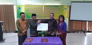 Gubernur Jambi Menandatanganani Kerjasama Dengan LBM EIJKMAN Menristek BRIN.