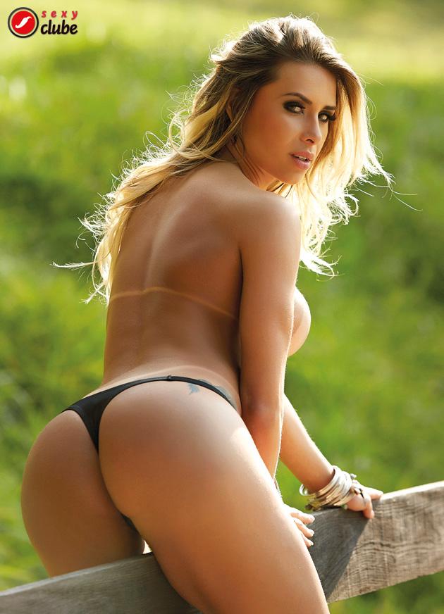 Nice female naked brazilian butts