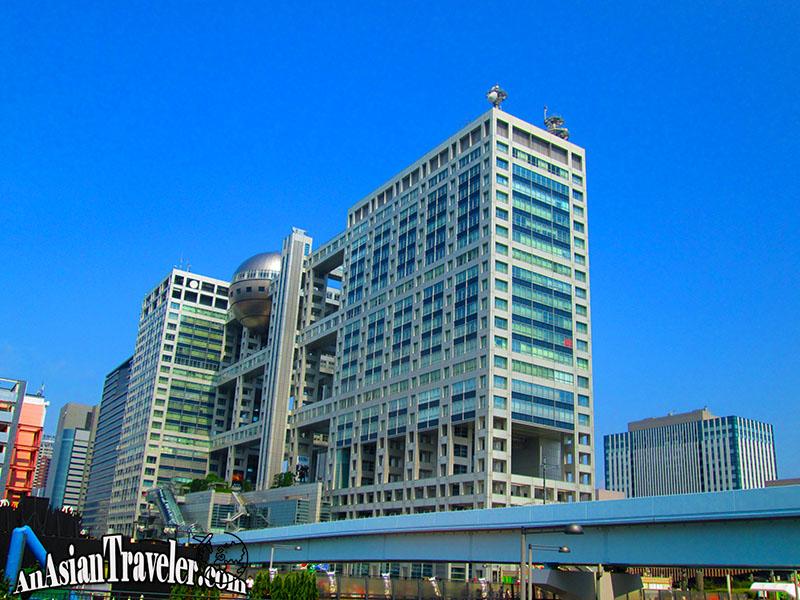 Fuji TV Building at Odaiba
