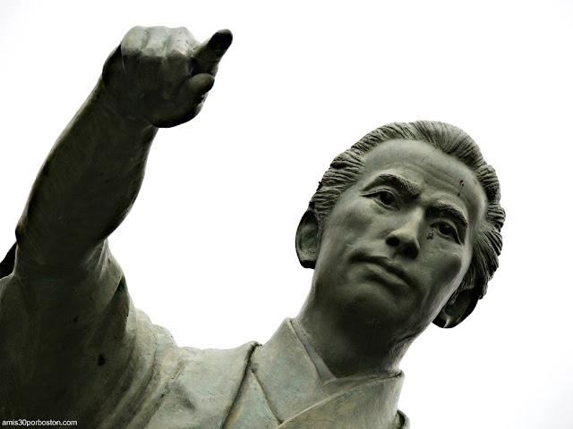 Estatua de Katsu Kaishu en Sumida, Tokio
