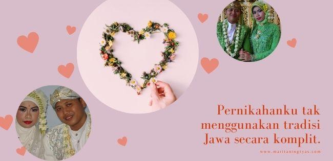 menikah tanpa prosesi adat Jawa