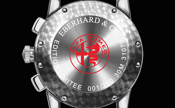 "Eberhard ""Quadrifoglio Verde"" Chronograph"