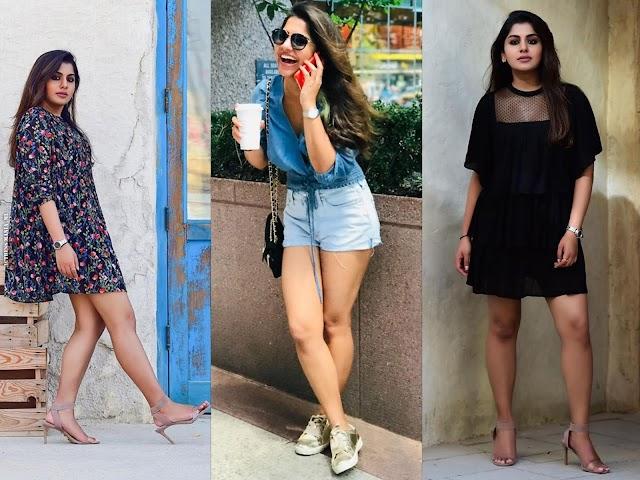 Meera Nandan Hot Thighs Photos
