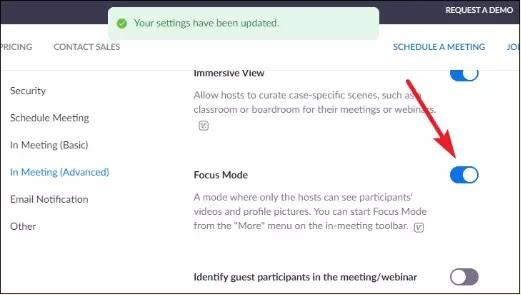 Cara Menggunakan Focus Mode di Zoom Meeting-2
